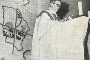 O religioso permaneceu no Pirambu até o ano de 1968, quando fora nomeado segundo bispo na Diocese de Viana, no Maranhão, onde faleceu sete anos depois (FOTO: Arquivo Pessoal/Nonato Nogueira)